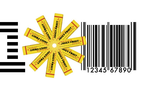Wrigley's Juicy Fruit codice barre